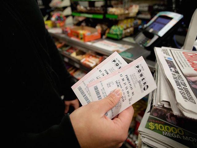 Suffolk man collects $1 million Powerball win