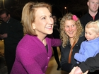 Fiorina fine after fall