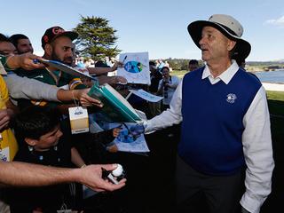 Bill Murray throws fans' phones