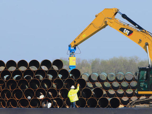 Keystone pipeline reactivated at low pressure following spill in South Dakota