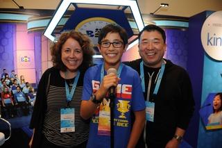 Scrabble champ seeks national Spelling Bee win