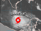 Danielle fourth named tropical storm record time
