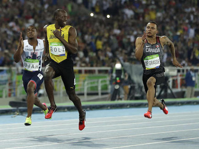 Bolt wins in London