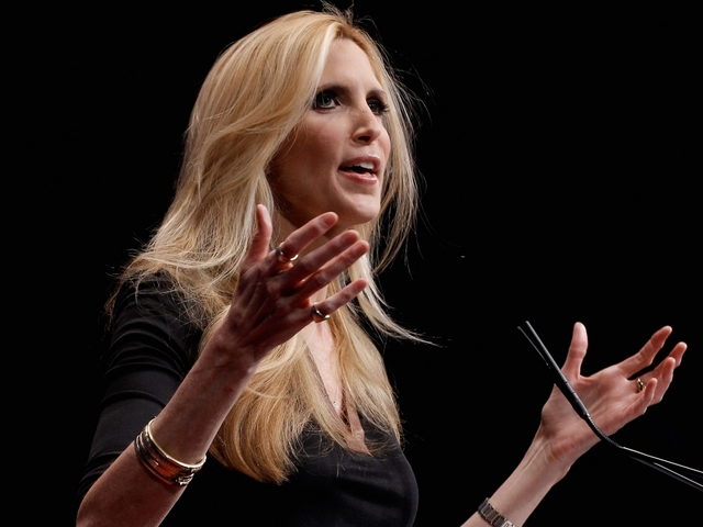 Trump's immigration pivot a buzz kill for Coulter's book tour