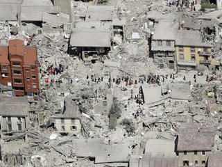 Quake-hit Italian town takes issue with cartoon