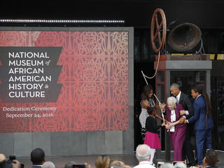 Smithonian's new black history museum opens