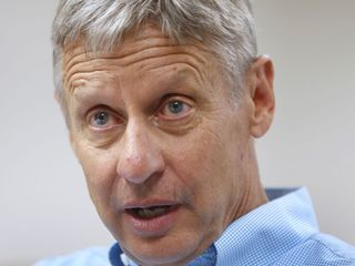 Gary Johnson just had another 'Aleppo moment'