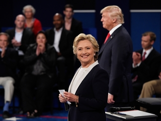 Trump and Clinton compliment each other