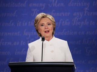 Clinton went after Senate to open debate night