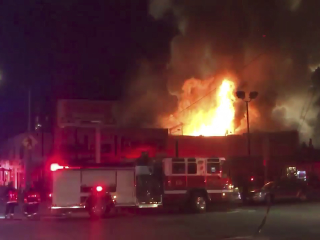 Official says 9 dead in fire at warehouse party