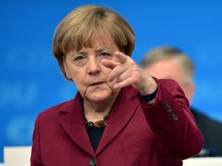 Merkel likely to prevail in German elections