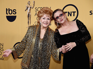 Carrie Fisher, Debbie Reynolds' joint headstone