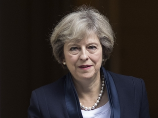 UK's Theresa May stuns political world Tuesday