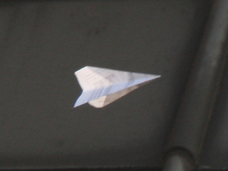 Paper airplane could land student in jail