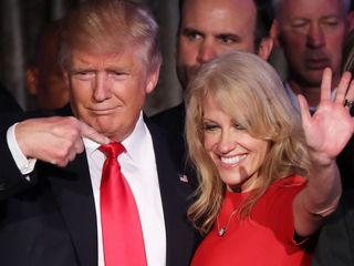 Conway: Trump won't release his tax returns