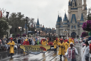 See photos Of Disney World flooded by heavy rain