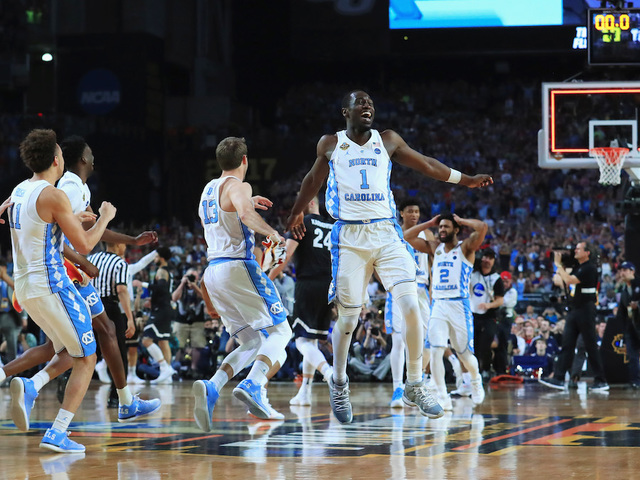 UNC fans storm the streets to celebrate NCAA men's basketball title