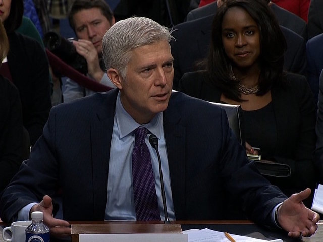 Gorsuch a supreme nominee to serve our country