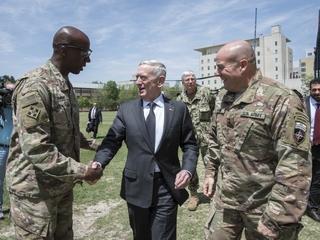 Mattis visits Afghanistan
