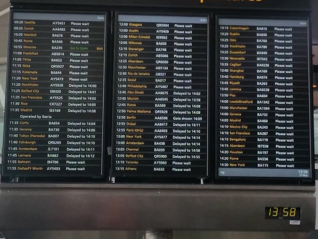 British Airways cancels all flights from 2 London airports amid computer outage