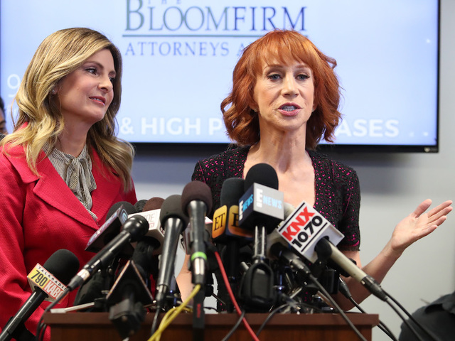 Kathy Griffin says she's been contacted by Secret Service