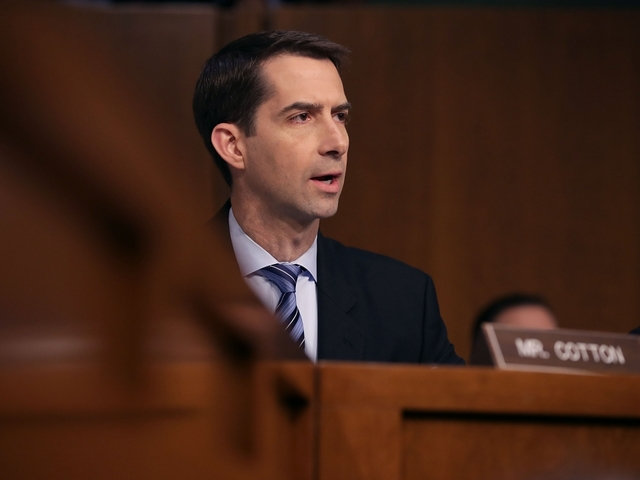 Tom Cotton slams probe of Sessions, Russia as 'spy fiction'