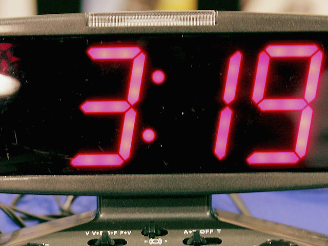 Alarm clock stuck in wall still sounding off after 12 years