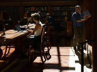 This generation is most likely to use libraries