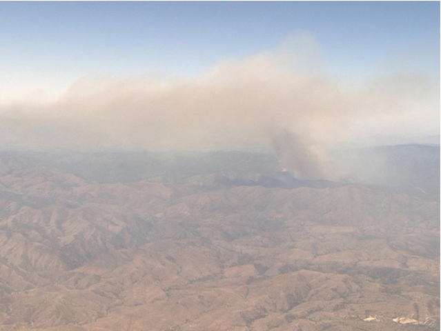 Utah officials release 911 calls on wildfire