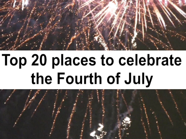 Watch fireworks at several Indiana State Park properties