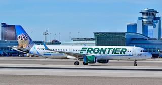 Frontier needs 300 Las Vegas flight attendants