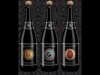 'Bend the Knee' beer for