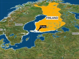 Police: 2 dead in Finland stabbing