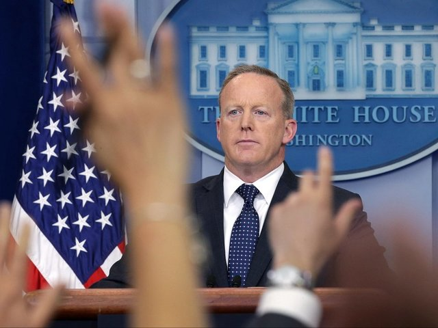 Sean Spicer Is Cashing In His Trump Card