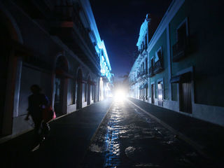 Puerto Rico power may not be restored for months