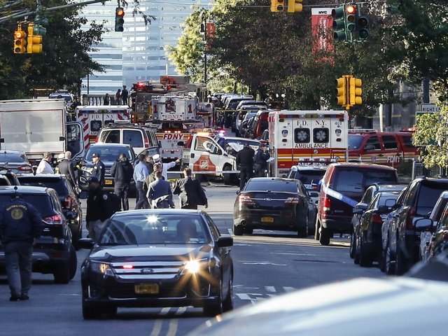 NY governor says attack suspect was radicalized in US