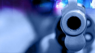 Suspect accused of pointing gun at firefighters