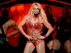 Britney Spears making announcement in Las Vegas
