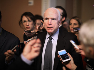 McCain to Trump: Lay off the 'fake news' claims