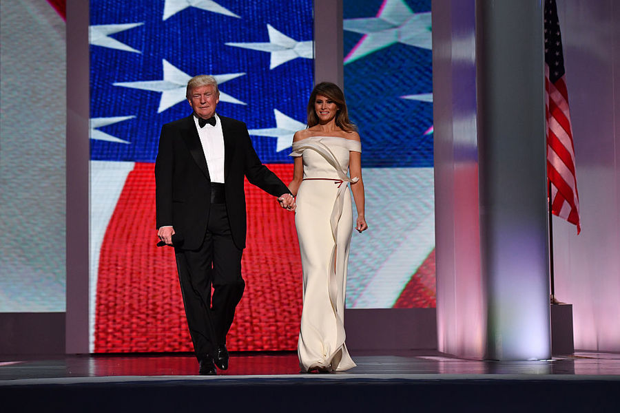 First Lady inaugural ball gowns - Gallery