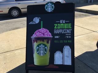 Starbucks launches 'Zombie Frappuccino'