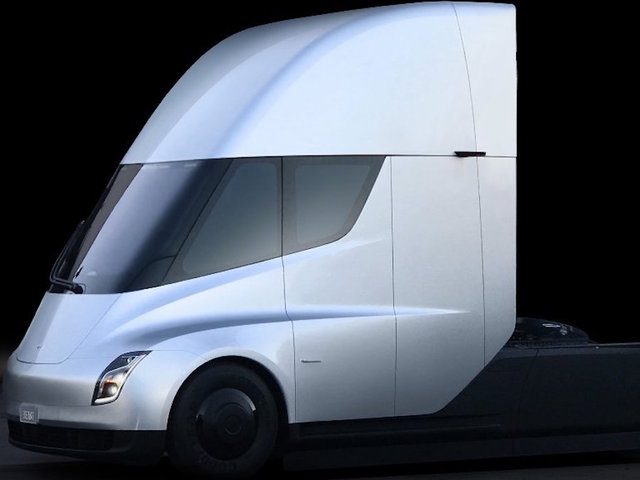 Tesla unveils its electric Semi truck at last