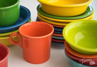 There's a special holiday Fiestaware set—