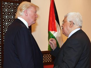 Palestinian leader calls for UN-led peace talks