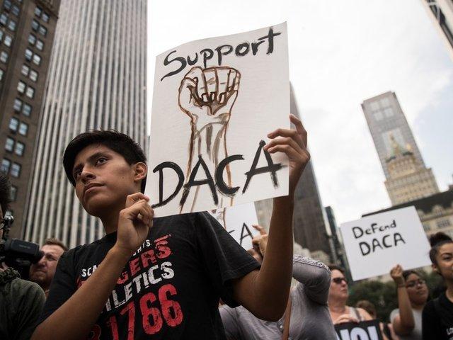 Trump Again Threatens Status Of DACA, Demands Border Wall