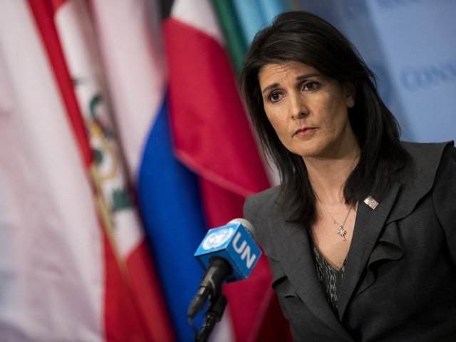 Nikki Haley Applauds Iranian People's 'Tremendous Courage' In Anti-Regime Protests
