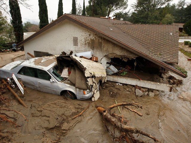 California Braces for Heavy Rains, Some Evacuated Due to Risk of Mudslides