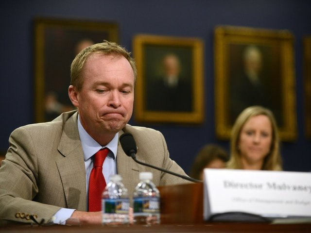 Mulvaney requests 'zero' money for CFPB
