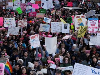 2018 Women's March focuses on voters' power