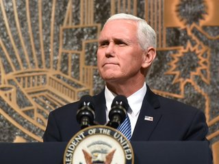 Pence sits down with King of Jordan on tour